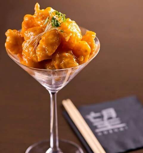Nozomi-Doha-Qatar-Eating-Marsa-Malaz-Kempinski-The-Pearl-Qatar-Shrimp-Tempura